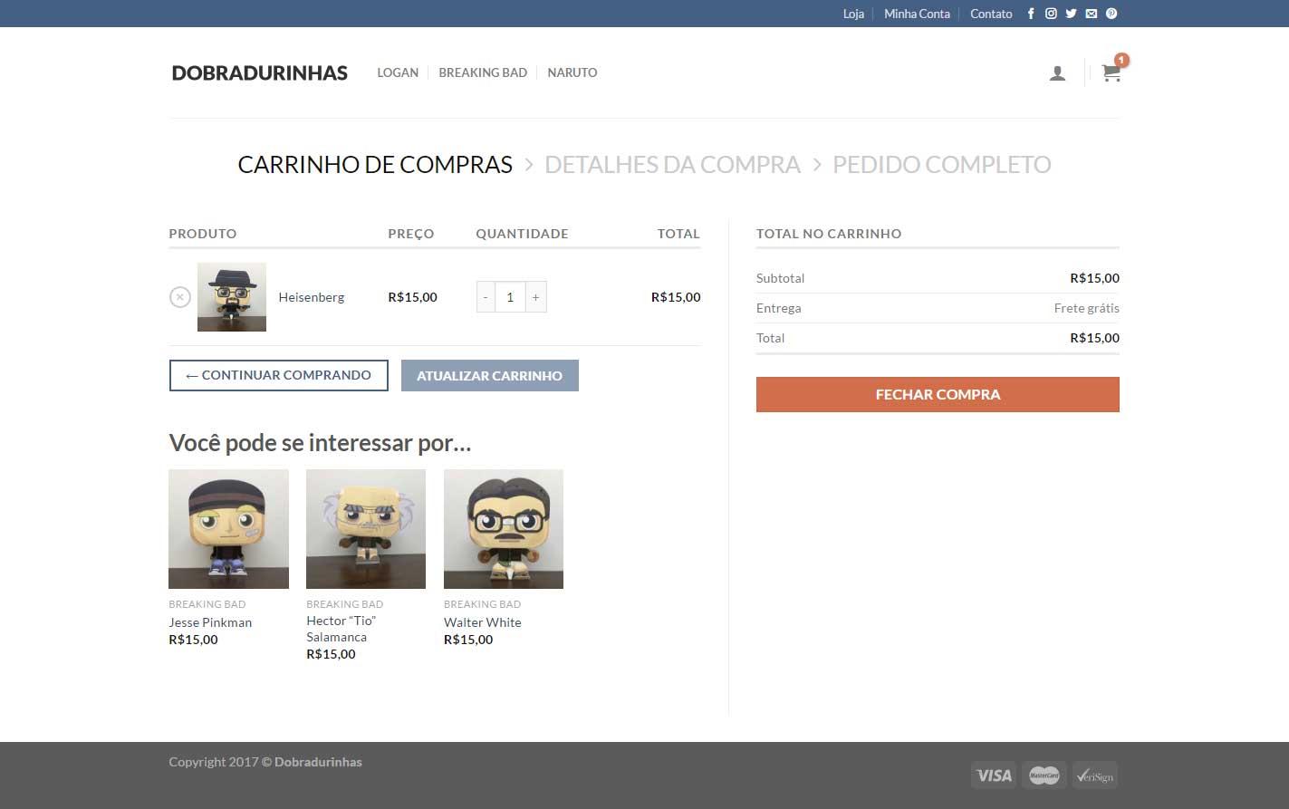 Dobradurinhas - Carrinho Novo
